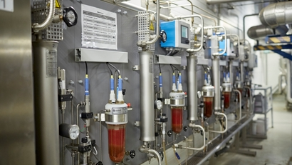 Solution d'analyse eau/vapeur d'Endress+Hauser