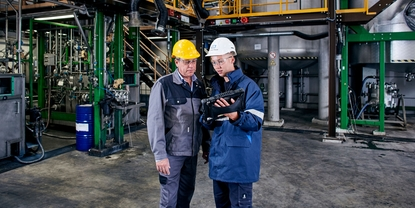 Agro chemical plant. Expertise and close collaboration lead to highly automation process