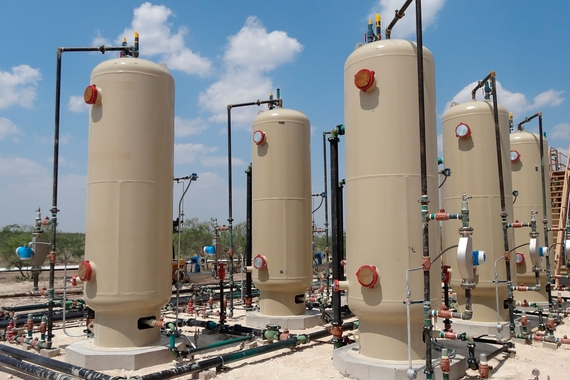 vertical 2-phase separators