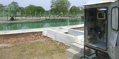 Clarifier outlet of India's largest EPC